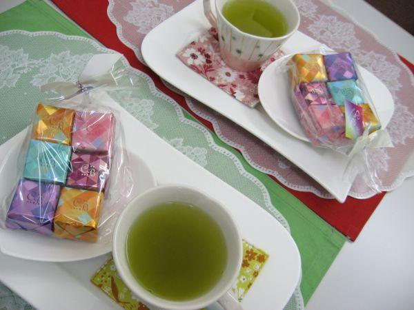 今月のマリアージュ浜松でのお見合いは可愛いお菓子で♪