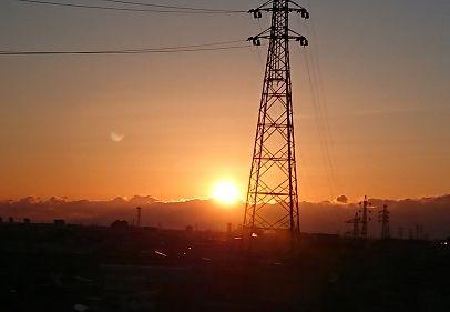 明けましておめでとうございます!マリアージュ浜松曳馬からの日の出