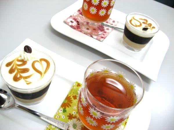 おしゃれなコーヒーゼリーでお見合いです!浜松結婚相談所