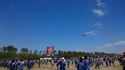 浜松まつり 凧揚げ 5月